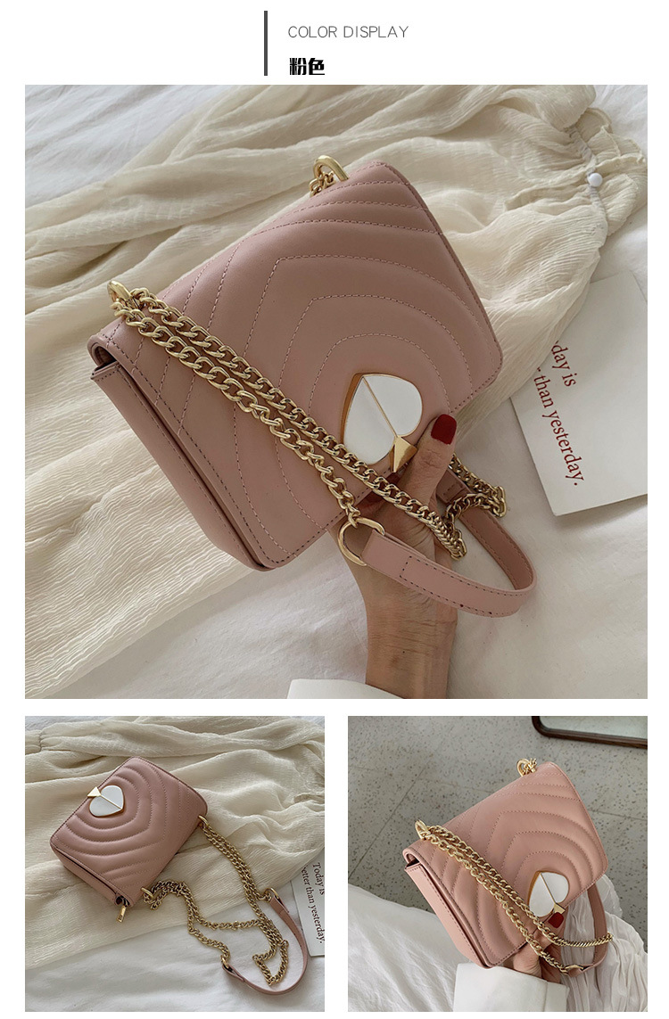 Cute solid color casual square bag NHPB122502