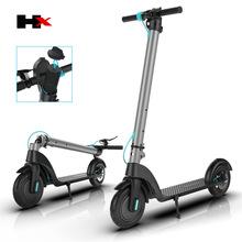 歡喜X7越野電動滑板車雙輪折疊純鋁合金鋰電電動車代步車廠家直銷
