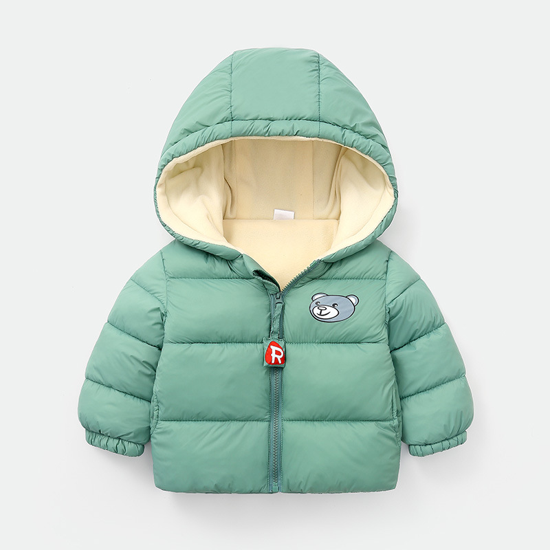 Children's Cotton Coat Boys and Girls Autumn and Winter Coats Children's Clothing