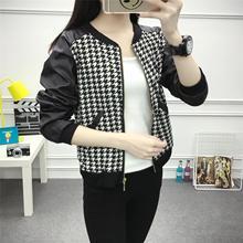 实拍2018新款Pu机车皮衣女士短款韩版修身短外套小皮夹克