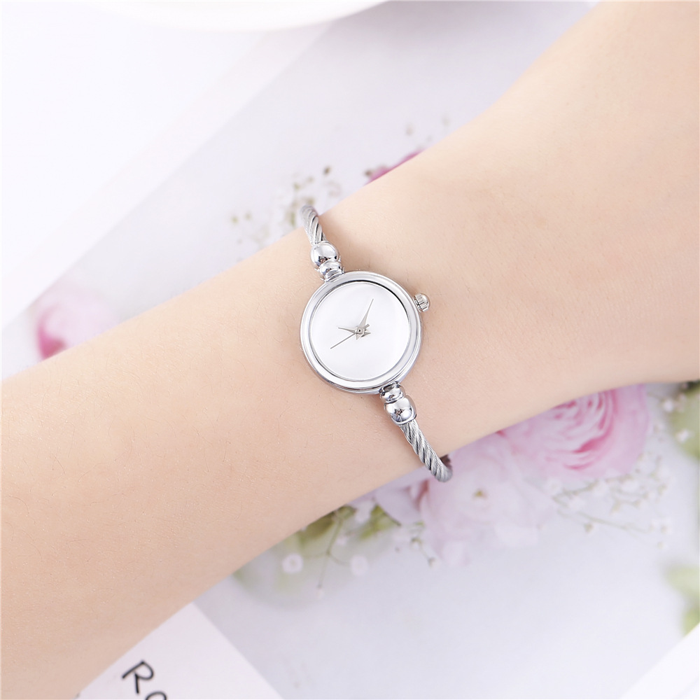 Fashion simple explosion ladies steel wire rope with chic wind watch NHHK133229