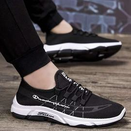 Men's shoes Spring Fashion shoes New style casual shoes Men's deodorant breathable sneakers Men's running shoes