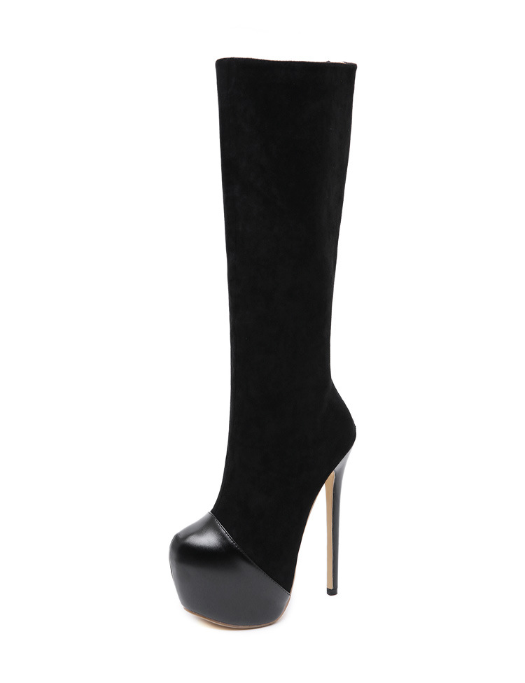 2019 new women's shoes European and American sexy high boots NHSO182116