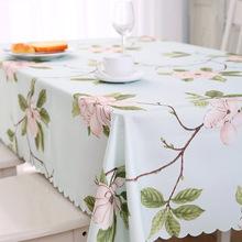 桌布布艺棉麻风格小清新欧式ins桌垫布艺防水格子茶几餐桌布北欧