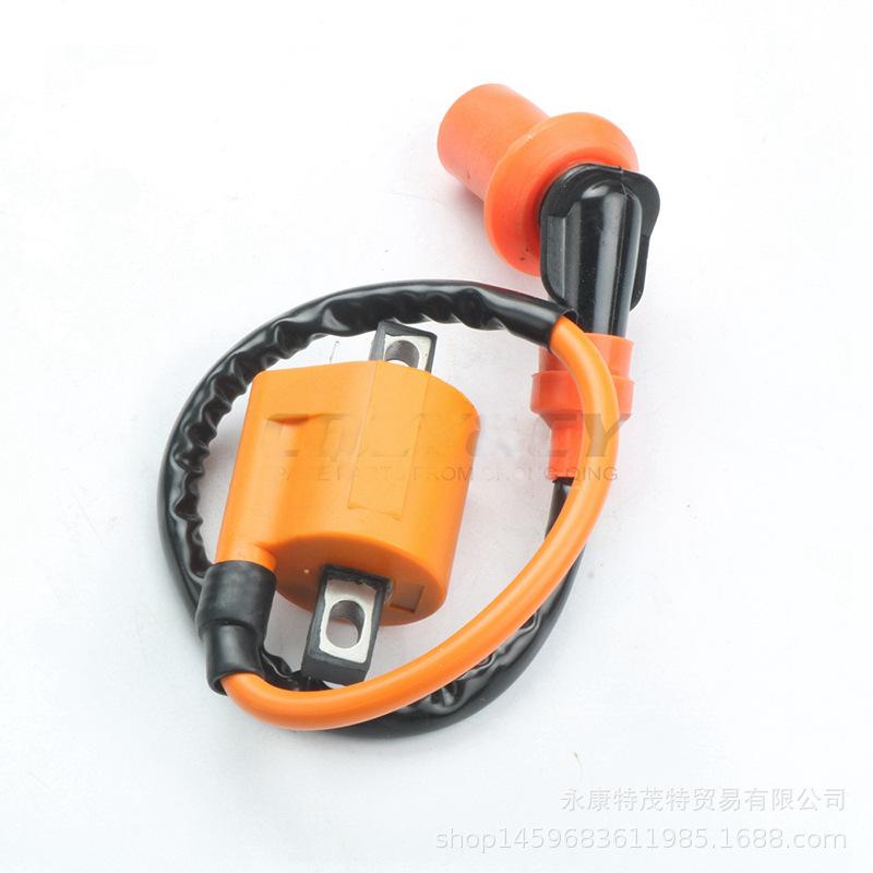 越野摩托车ATV沙滩车改装配件CG125 200 250CC高压包点火器线圈