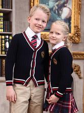 英伦学院风幼儿园园服小学生班服校服春秋套装秋冬园服长袖