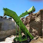 可移动青贮取料机 供应青储料扒草机 成堆草料取料机装车