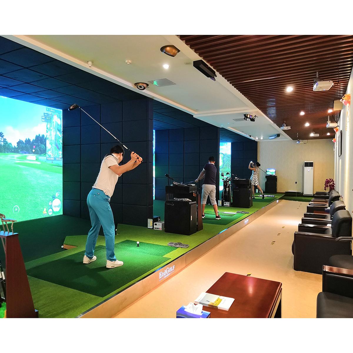 深圳 倚天达 体太福 中国总经销 高速摄像超高清模拟高尔夫设备