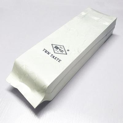 工厂定制牛皮纸塑复合侧风琴背中封茶叶包装 云龙纸侧风琴茶叶袋