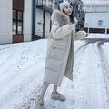 2019冬季羽绒棉服女中长款新款韩版宽松东大门显瘦棉衣外套棉袄