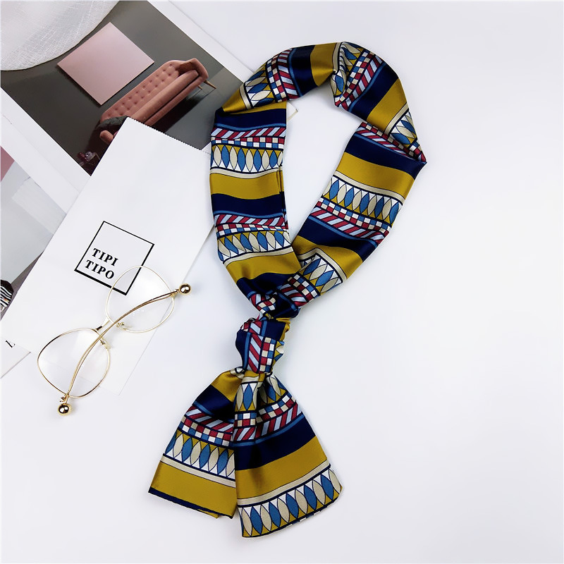 Double-sided dual-use small scarf professional scarf NHMN138607
