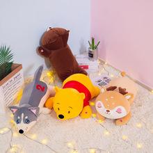 新款创意动物按摩公仔抱枕毛绒玩具放松身心舒适减轻压力厂家直销