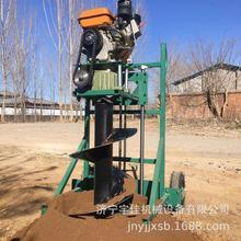 湖南电线杆挖洞机 林业种植果园钻坑机 果园果树施肥挖坑机