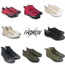 2020新款流行男鞋硫化鞋工装复古帆布鞋女高帮帆布鞋男经潮鞋定制