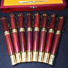 正宗小叶紫檀钢笔实木制品办公签名笔高档商务签名笔木质工艺品
