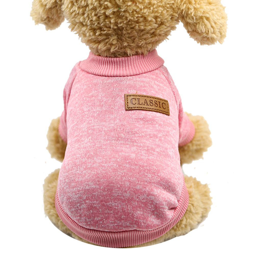 CLASSIC WOOL SWEATER PINK