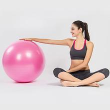 廠家直銷一件代發防爆瑜伽球直徑65cm健身球光面體操普拉提球