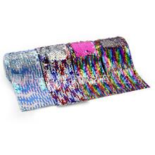 廠家現貨舞蹈演出服裝窗簾輔料7.5cm寬亮片條花邊連線織帶珠片