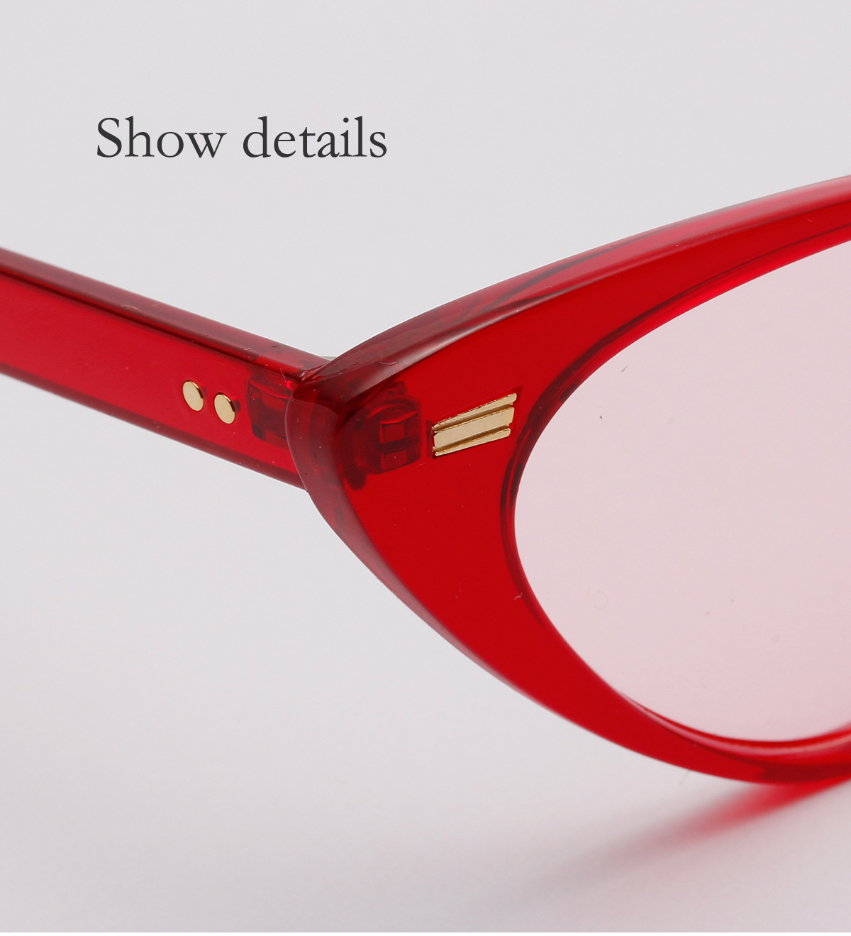 New fashion retro studded sunglasses wholesale NHXU205427