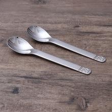 勺子18/10不锈钢儿童吃饭勺 餐勺甜品勺 不锈钢婴儿宝宝勺子餐具