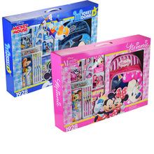 正品迪士尼文具套裝兒童文具套裝六一兒童節文具禮品