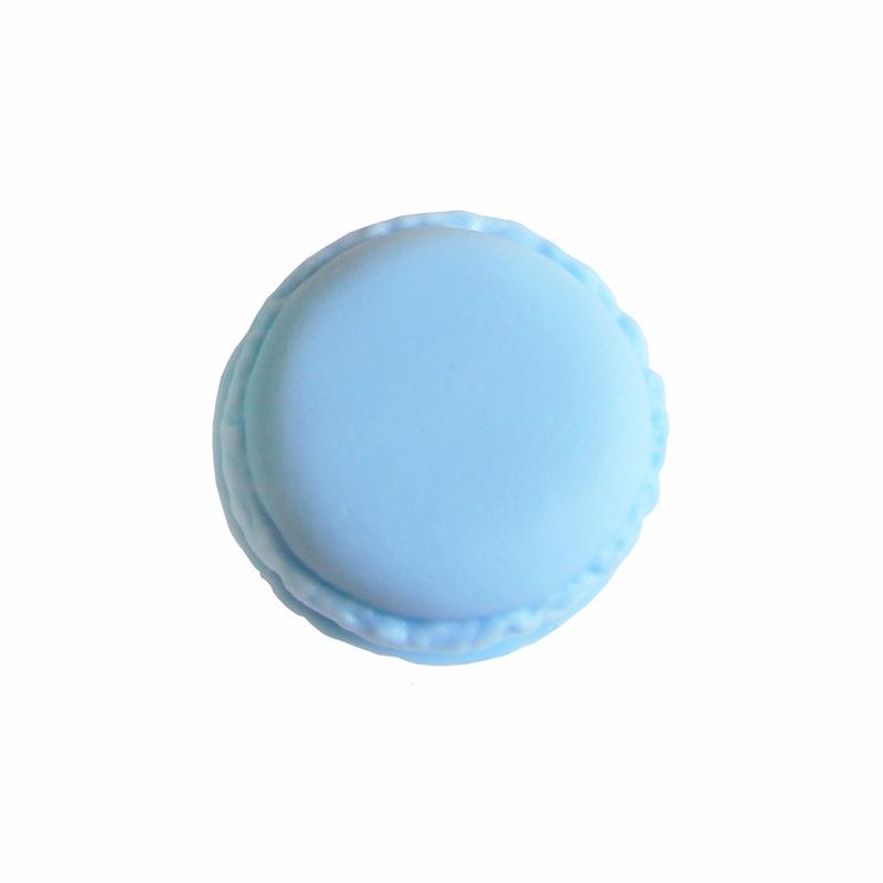 9色可选小号马卡龙便携杂物收纳盒圆形首饰盒迷你饰品盒药盒13g