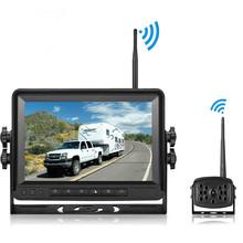 reverse camera亞馬遜熱銷私模新品貨車 7寸數字無線倒車影像系統