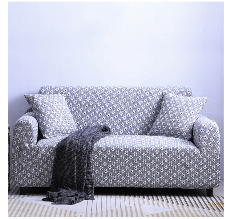 Comfortable color cotton sofa cover slipcover cushion for multiple seats NHSP134620