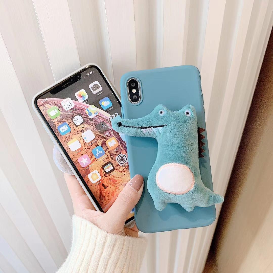 Plush mouse Samsung note10 phone case NHHC184783