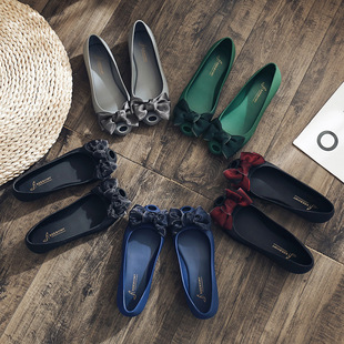 Women's shoes spring new women's sandals summer jelly shoes women's casual women's shoes British style women's shoes new flower sandals women