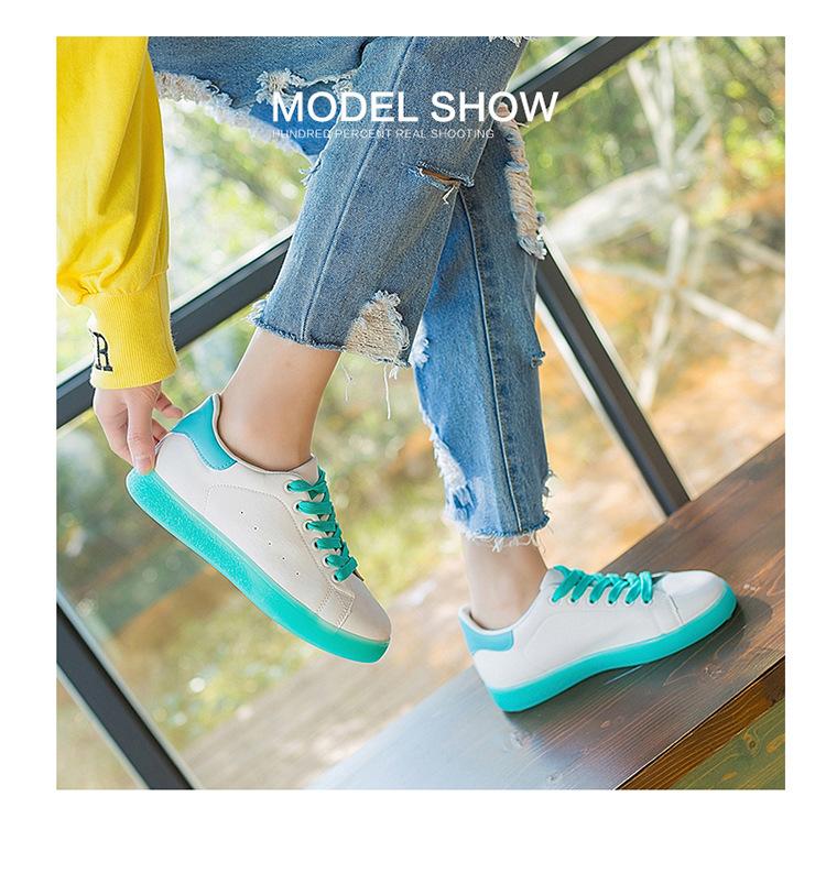 ARSMUNDI Весна для женщин спортивная обувь 2019 кожа желе дно белый на undefined