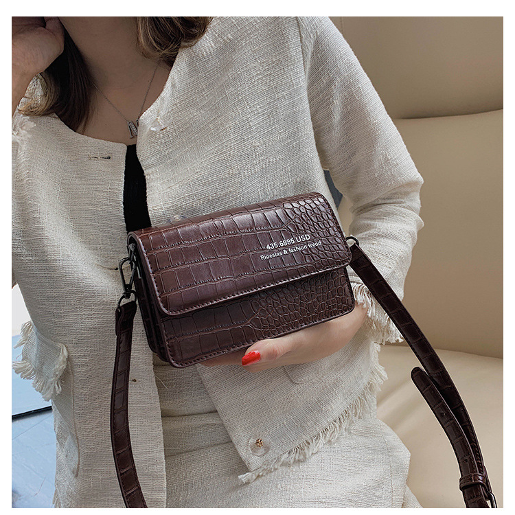 Fashion stone crossbody bag NHLD154153