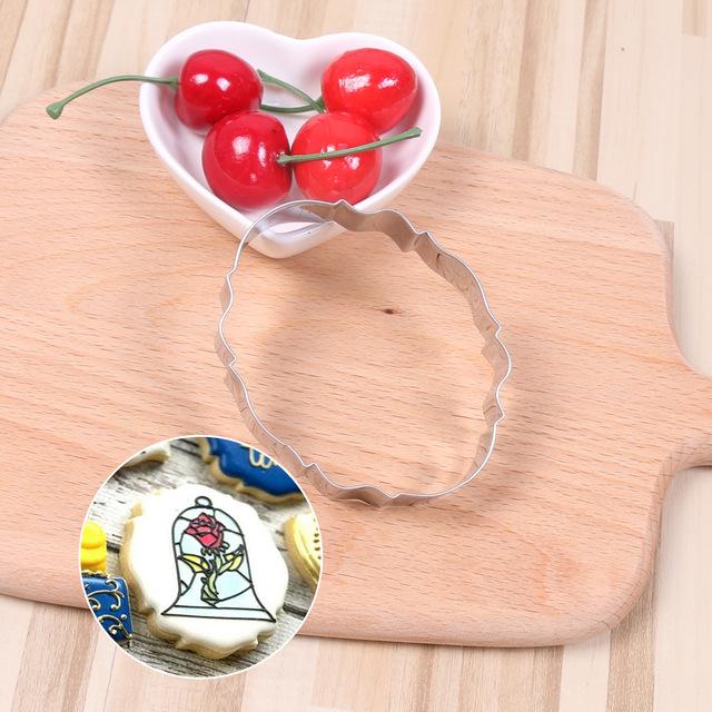 特价促销不锈钢饼干模具 新款椭圆形欧式镜框 婚礼祝福框曲奇切模