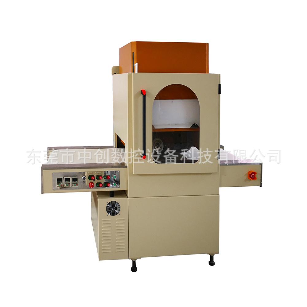 冲床冲压铝板覆膜冲压件全自动万向打磨机不伤覆膜