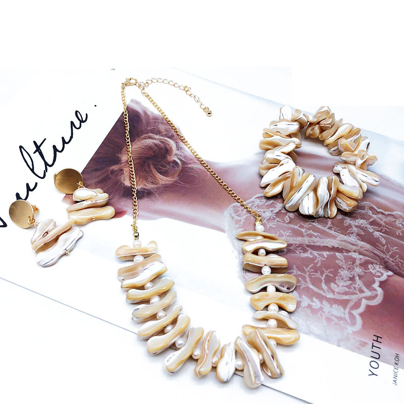 Alloy Fashion  necklace  (necklace)  Fashion Jewelry NHOM1401-necklace