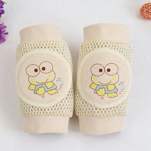 2021 spring and summer baby crawling knee pads infant and young children breathable mesh knee pads toddler anti-fall knee pads safety elbow pads