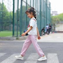 防蚊裤2019夏季新品儿童棉麻轻薄透气?#20449;?#31461;空调裤防?#31859;?#23485;松睡裤