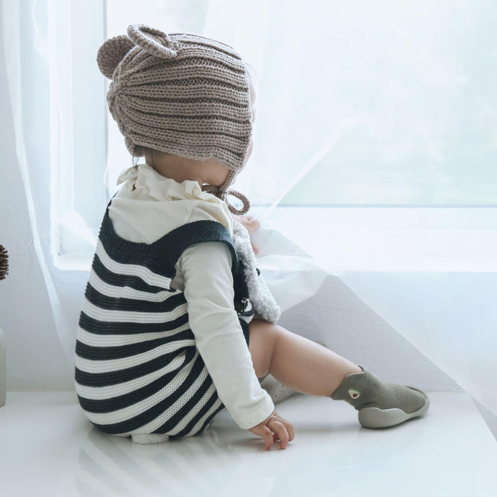2019 سقوط طفل جديد الجوارب الطابق الأطفال الجوارب 0-4 طفل عمره سنة المطاط أسفل المضادة للانزلاق طفل الجوارب