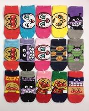 面包超人 可愛兒童卡通襪子 男童襪 女童襪 棉襪短筒襪 船襪 日單