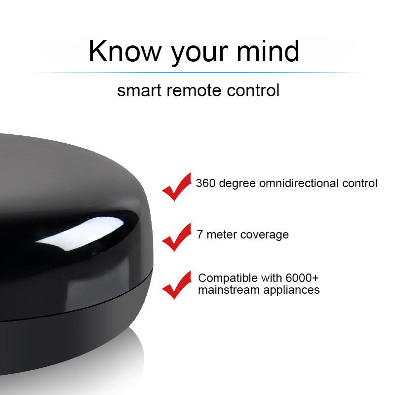 厂家直销QRA2新款智能wifi手机遥控器电视机顶盒空调红外遥控器