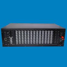 程控电话交换机CDX8000-TP1612 4进120出 酒店宾馆客房内线电话