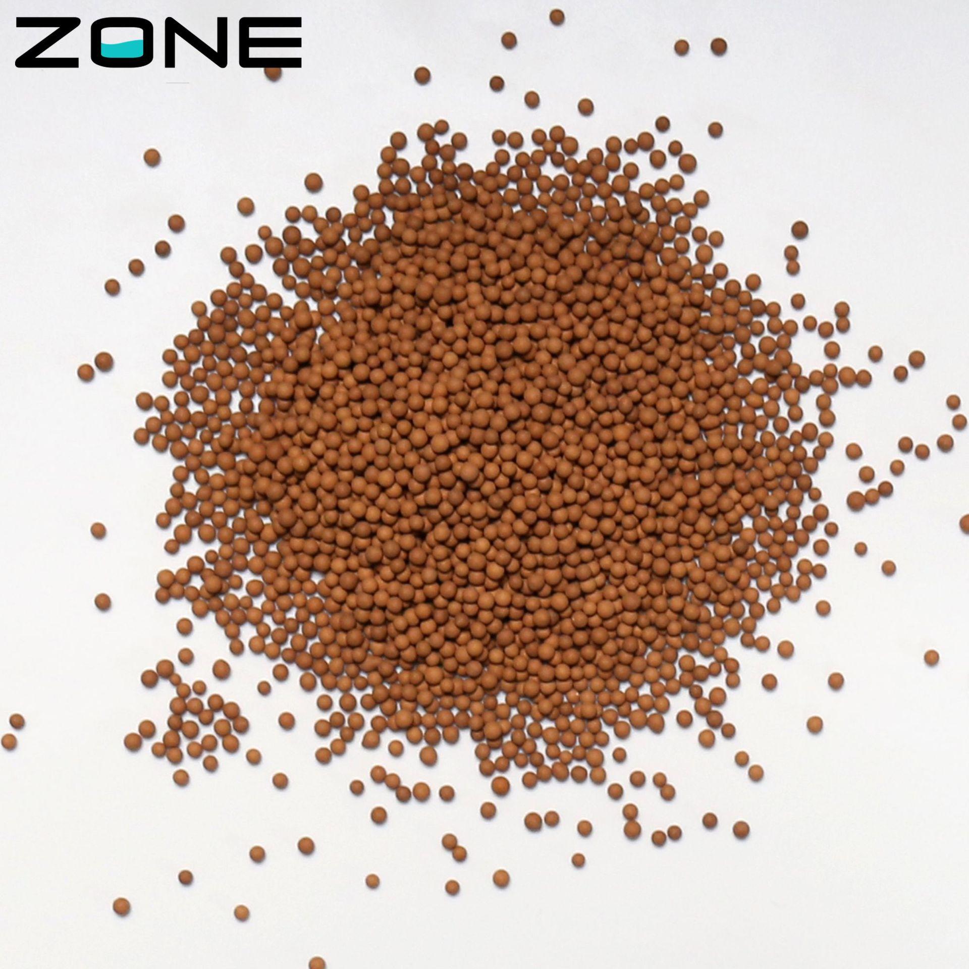麦饭石陶瓷球 水处理用 滤料 过滤球 沐浴器花洒滤料-宗立