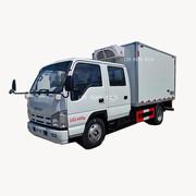 生抽副食运输车 程力威牌CLW5043XLCQ5型冷藏车柜式冷藏厢式车