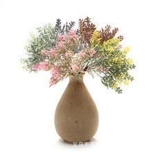 仿真植物絨尖葉穗 仿真薰衣草花束手捧花小把 家居擺放 DIY裝飾
