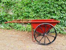 人力建筑斗车 手推两轮工地车 3厘加厚花板斗车 电动斗车
