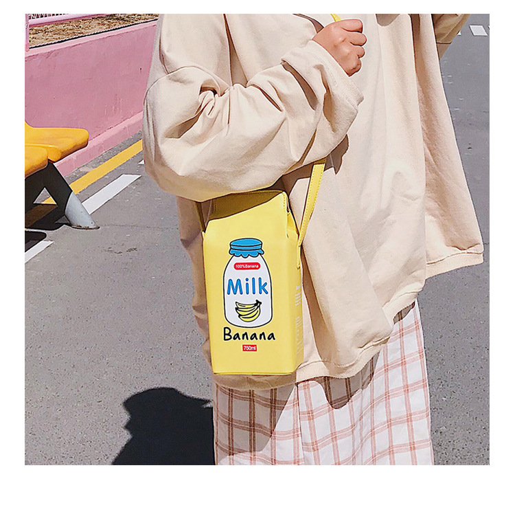 new fashion cute milk hit color messenger bag NHTG313574