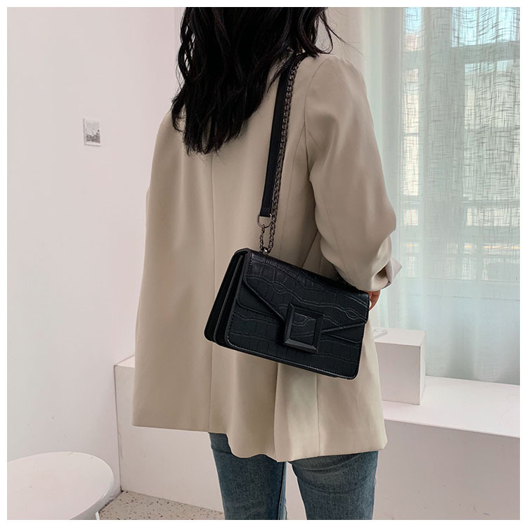 Simple and versatile style fashion crossbody shoulder bag NHLD157971