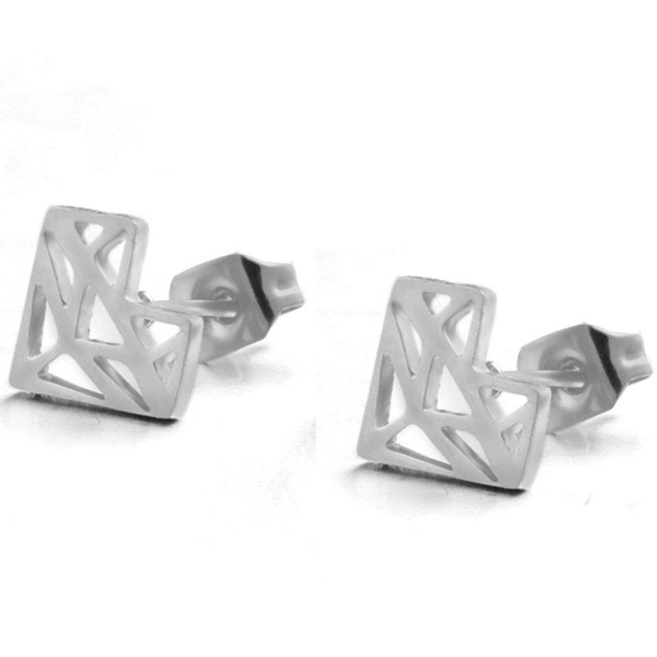 Fashion Hollow Heart Alloy Earrings Wholesale NHAKJ338426