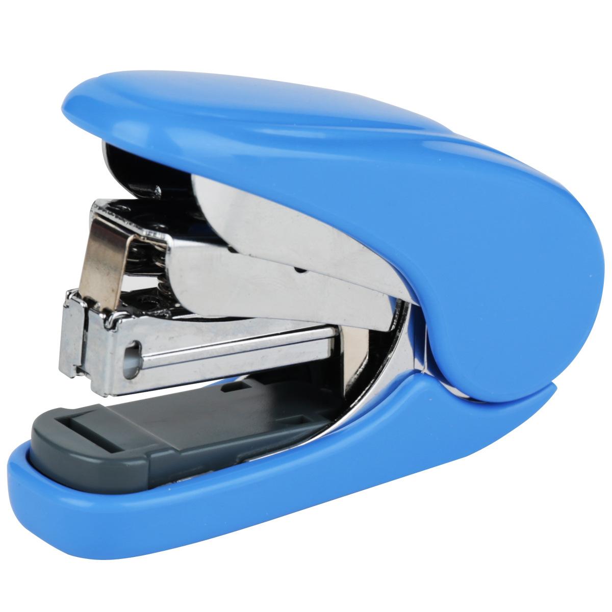 得力0363 订书器学生用标准型钉书机 多功能省力经济中小型装钉器