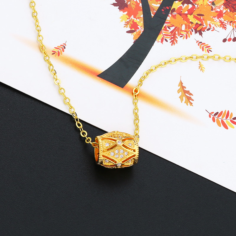 Alloy Simple Geometric necklace  (Alloy)  Fashion Jewelry NHAS0532-Alloy
